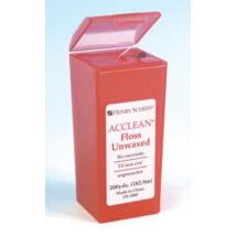 Fogselyem Acclean Dental Floss nem viaszos 182m piros HS
