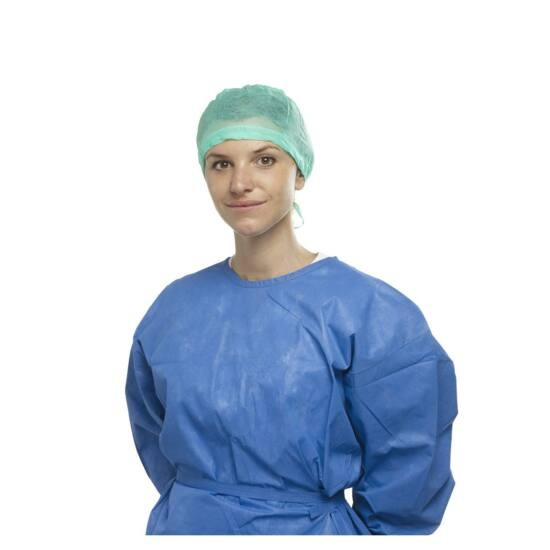 ALLE nem steril megkötős sapka v.kék 160db