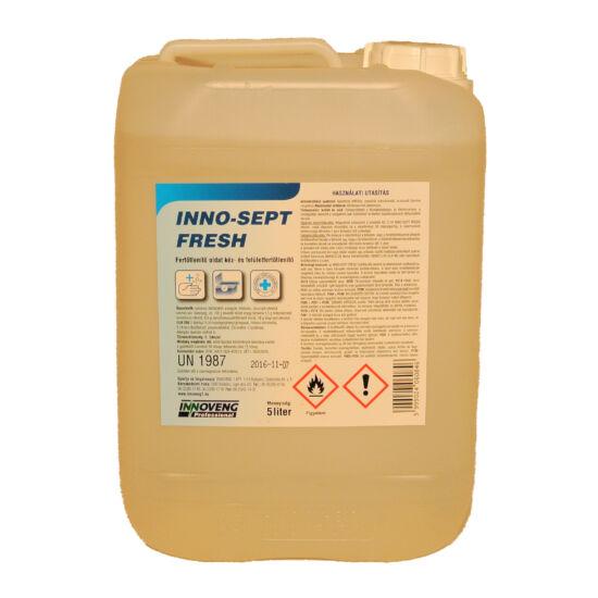 INNO-SEPT Fresh 5 L kéz és felületfertőtlenítő alkoholos