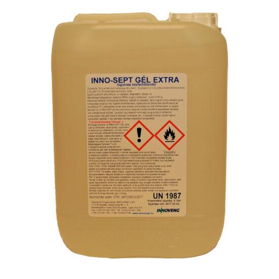 INNO-SEPT Gel 5 L extra alk.tartalmú kézfertőtlenítő