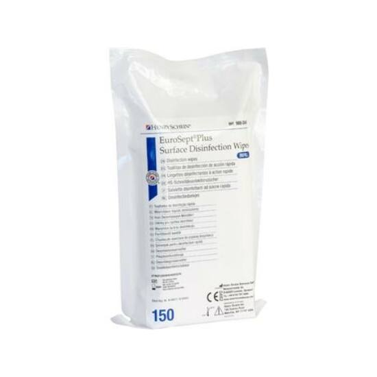 EuroSept Plus Wipes ut. 150db 14x20cm HS