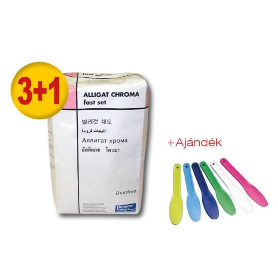 AKCIÓ - Alginat ALLIGAT Chroma fast 453g 3+1