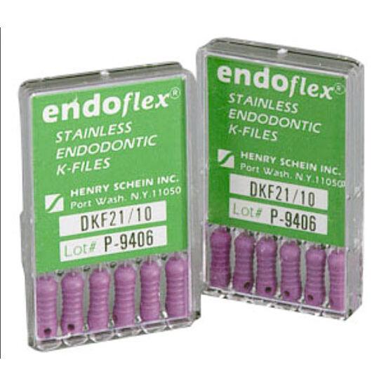 K-Files Endoflex 21mm 06 rózsaszín 6db HS