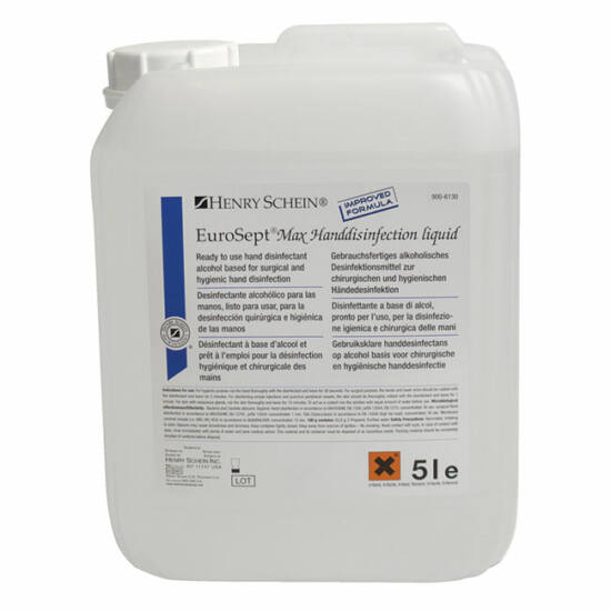 Eurosept Plus kézfertőtlenítő 5l használatra kész alkoholos HS
