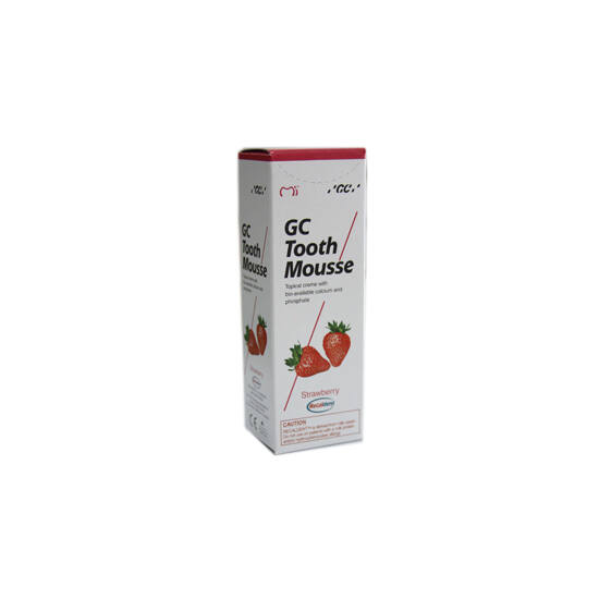 GC Tooth Mousse 1x40g Strawberry