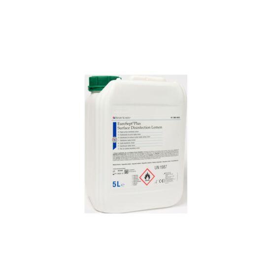 EuroSept Plus Surface Lemon 5 L. használatra kész aldehidmentes oldat HS