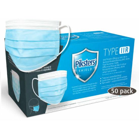 Arcmaszk Piksters IIR gumis kék 50db