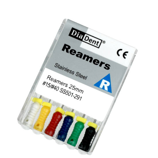 Reamers 25mm 08 szürke 6db Diadent