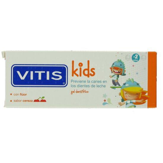 AKCIÓ - VITIS kids fogkrém cherry 50ml 7+1