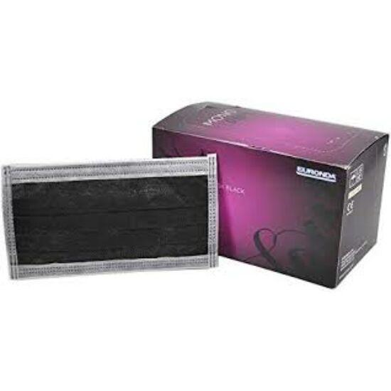 Arcmaszk Monodark Protection 4 rétegű 50db fekete