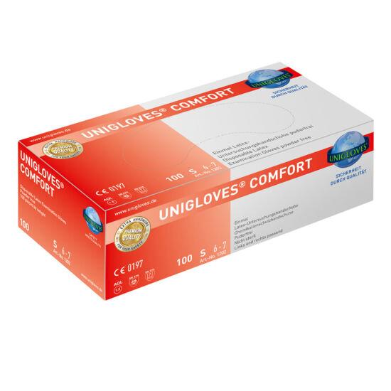Kesztyű latex púdermentes Comfort M 100db