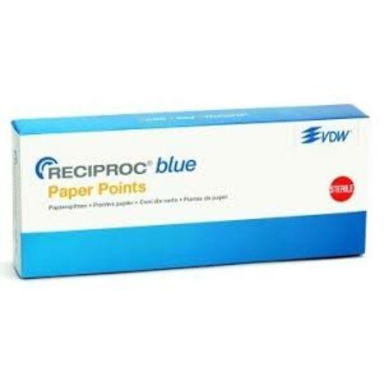 Reciproc Blue Papírcsúcs steril 25 piros 180db