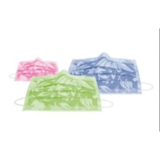Arcmaszk Monoart Protection 3 FLORAL virágmintás 50db lila