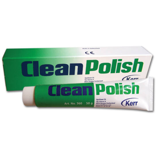 Cleanpolish paszta zöld fluoridmentes 50g