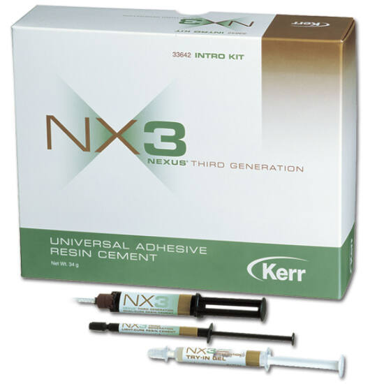 NX3 Automix Dual-Cure Syringe Clear 5g