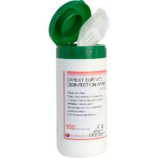 Safe-ST Wipes dobozos alkoholos kendő 14x20cm 100db
