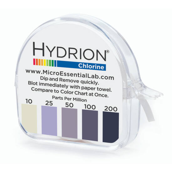 Hydrion (CM-240) klórszint mérő 10-200ppm